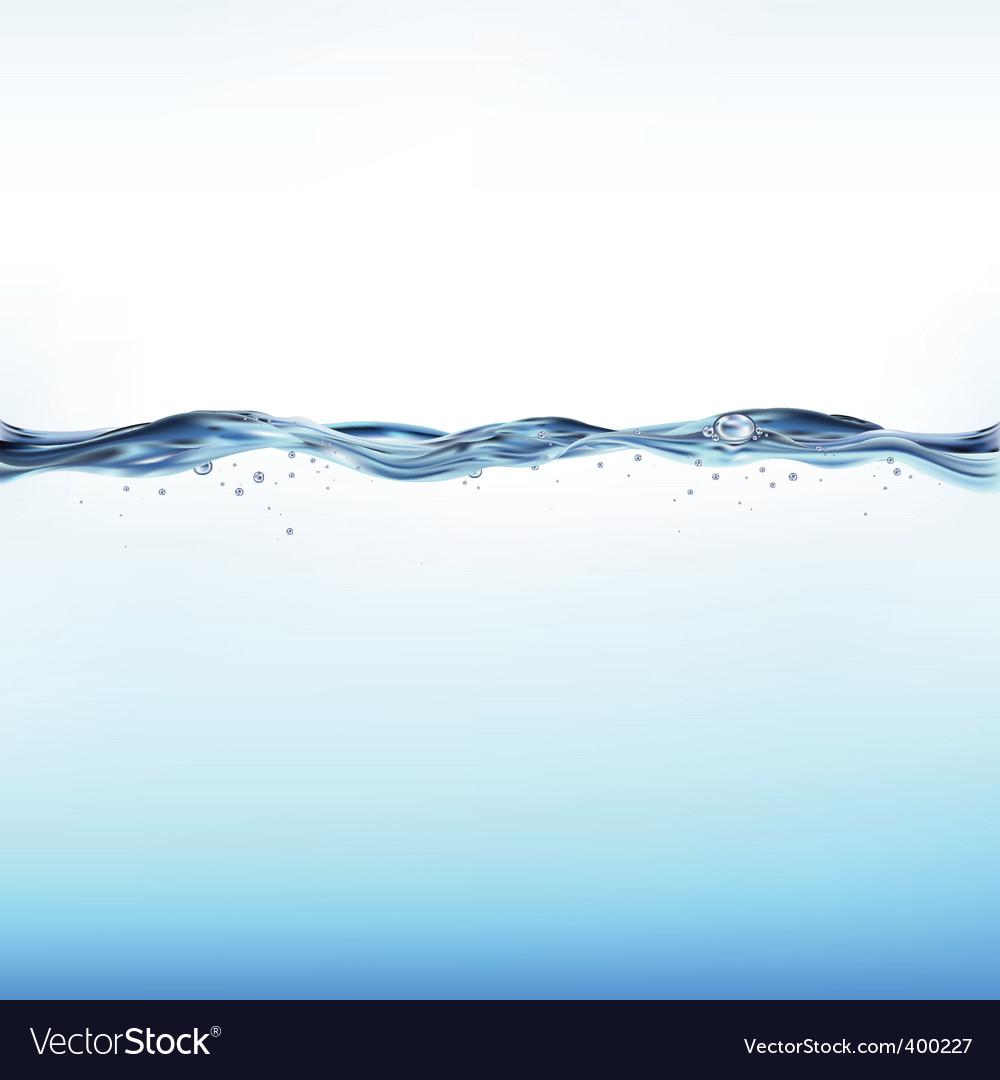 Waterscape vector