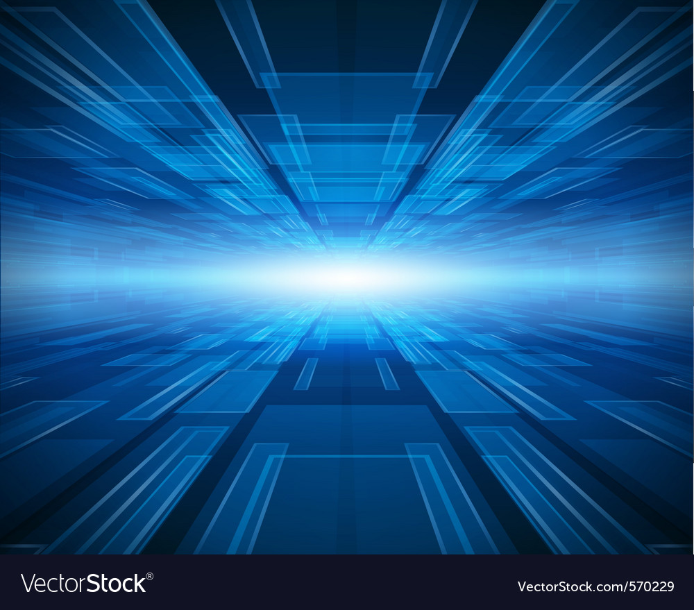 Abstract futuristic background vector
