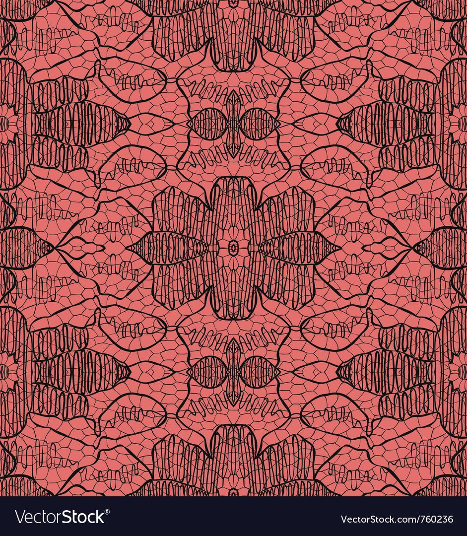 Delicate lace vector