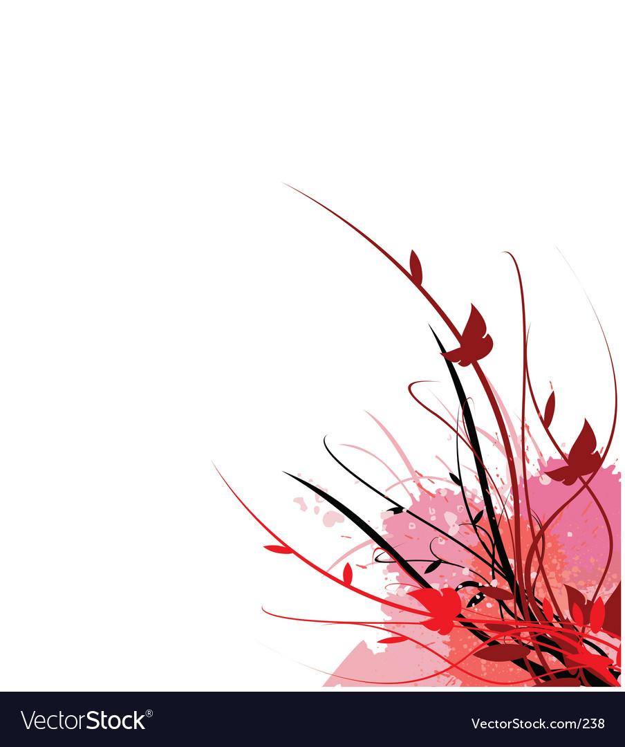 Free floral vine garden vector
