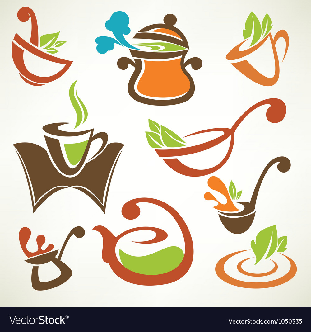 Cook food collection of cooking equipment vector