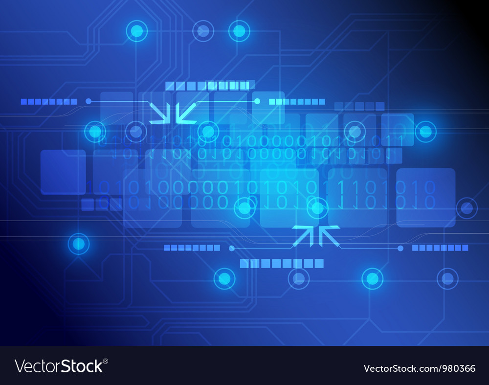 Technology background design vector