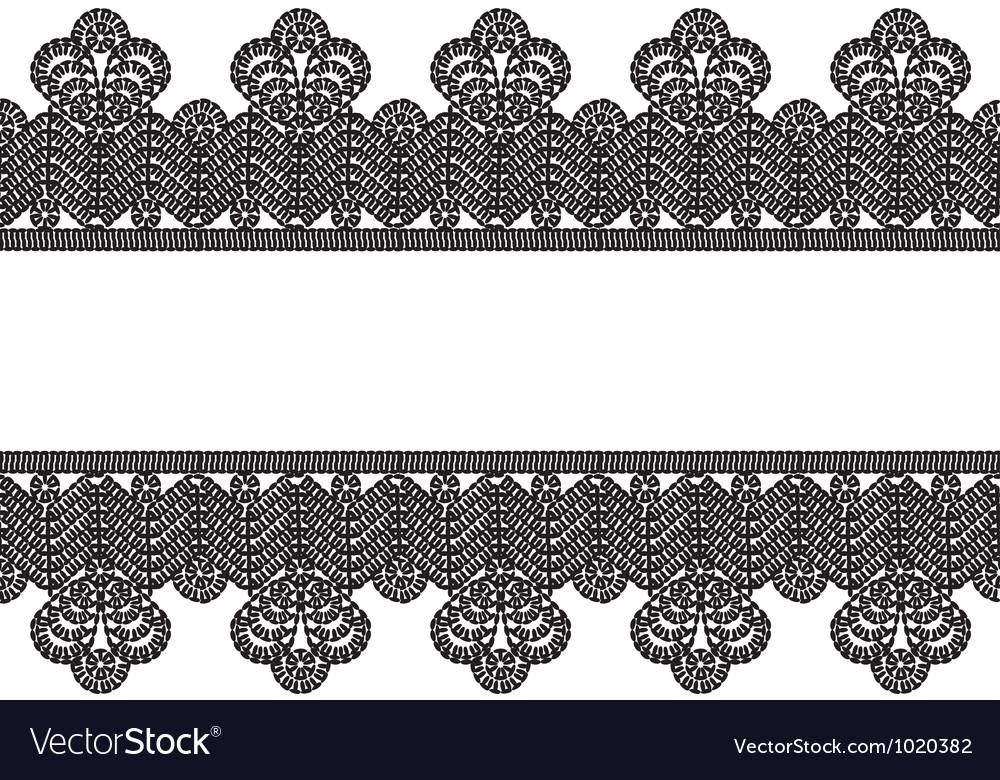 Black Lace Border