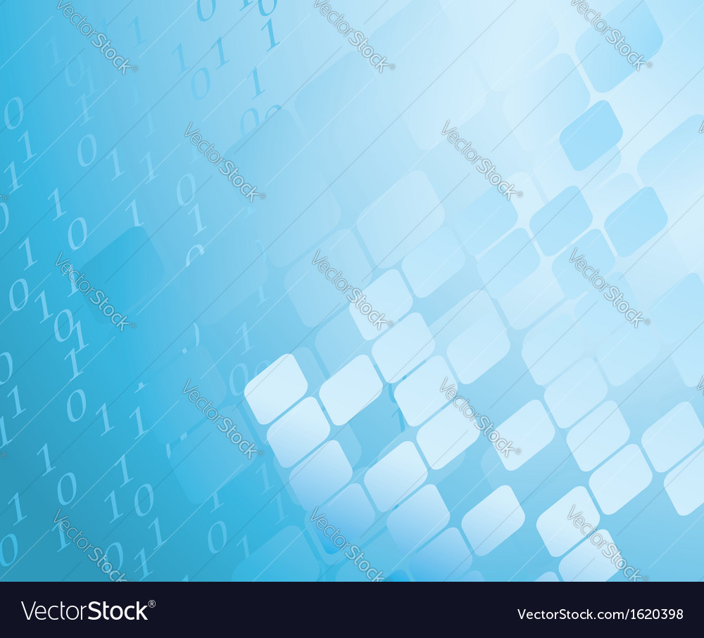 Abstract blue background with figures vector
