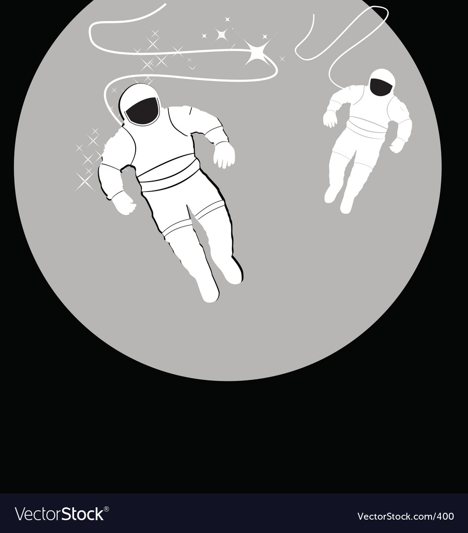 Free spaceman vector