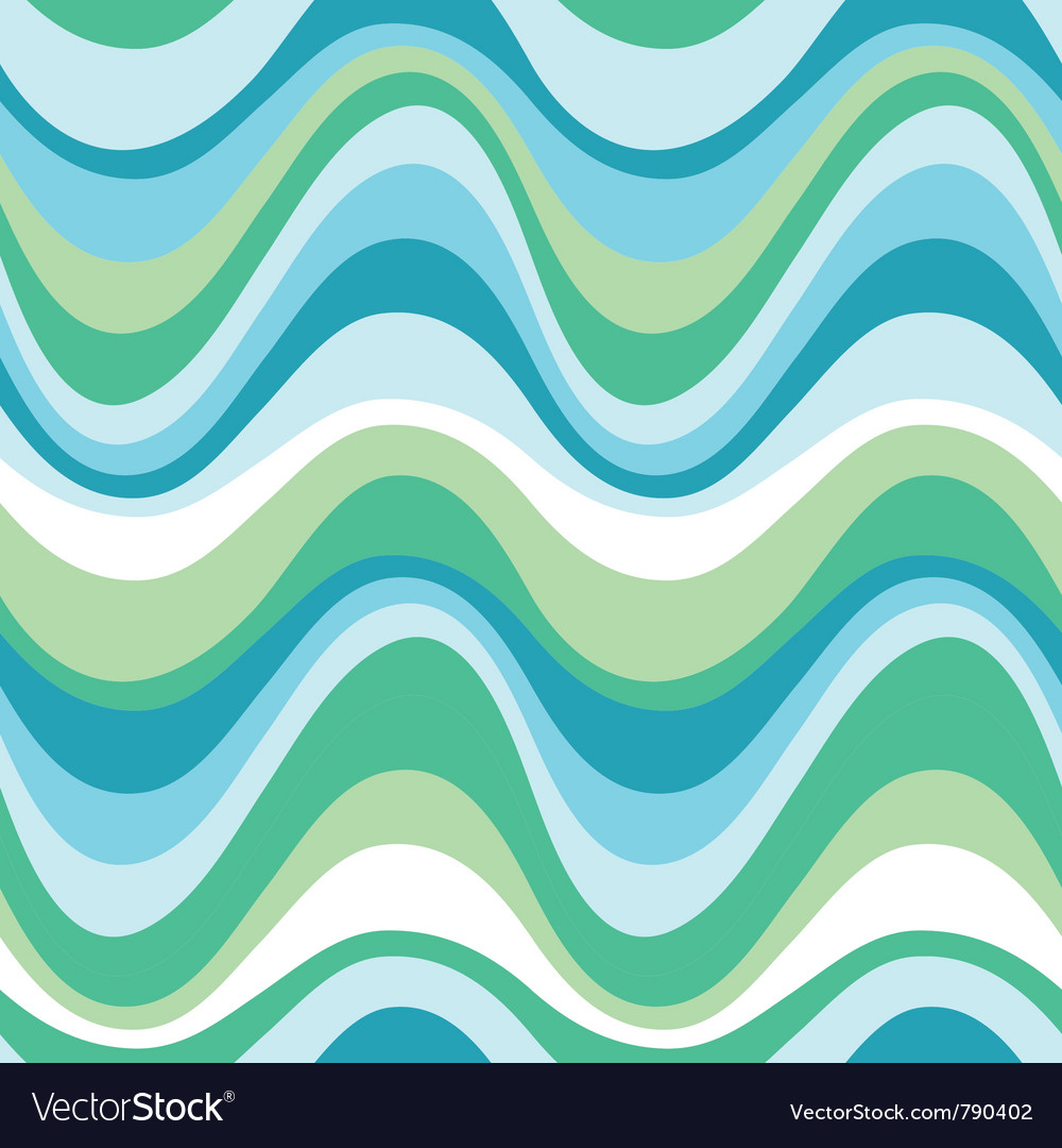 Water sea pattern vector