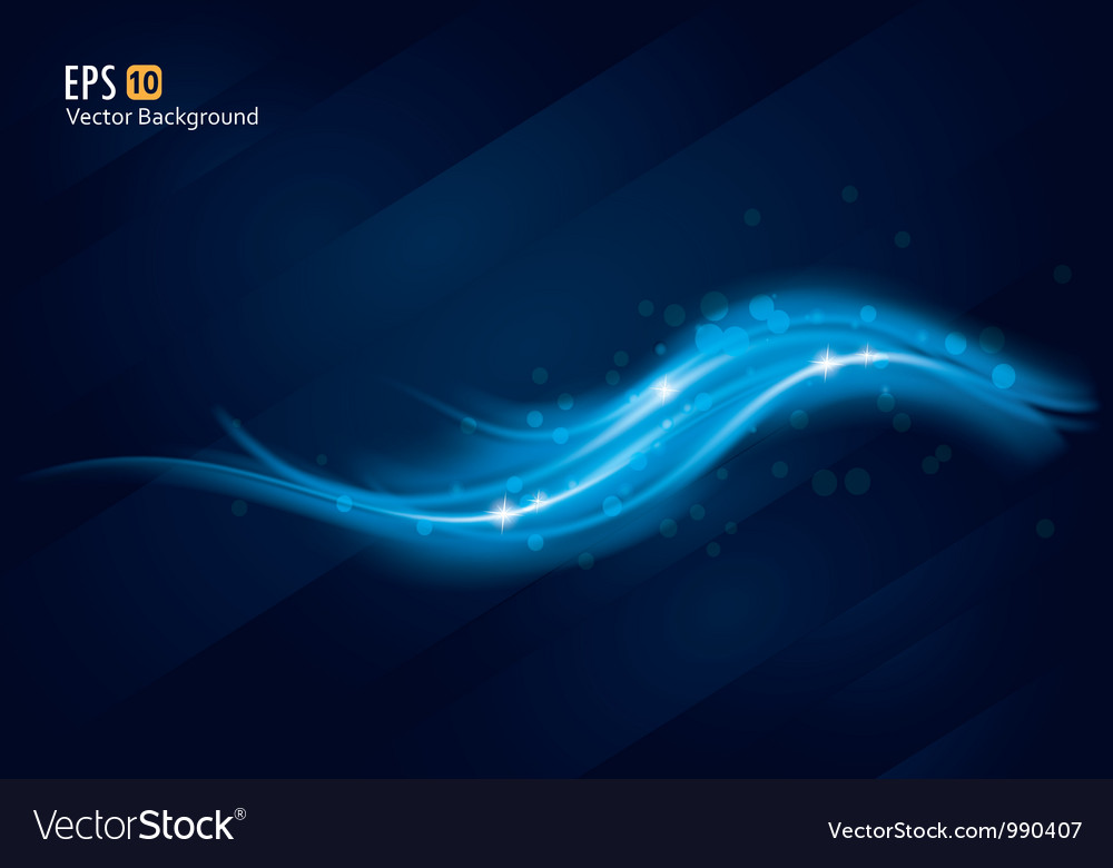 Abstract blue background 2 vector