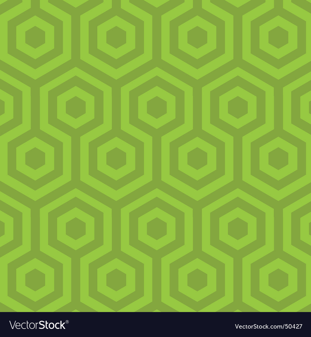 Hexagon pattern vector