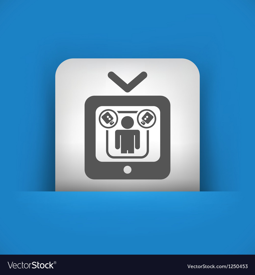 Single icon vector