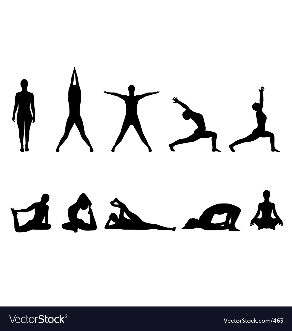 Yoga Vector Icon – images free download