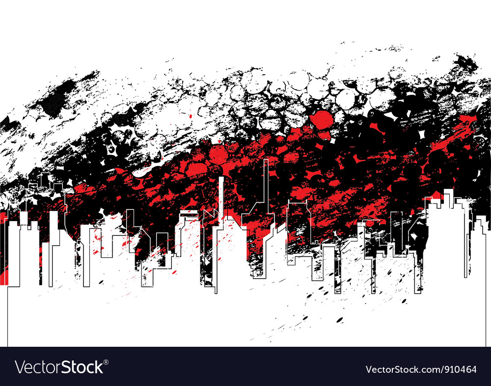 Urban art design vector