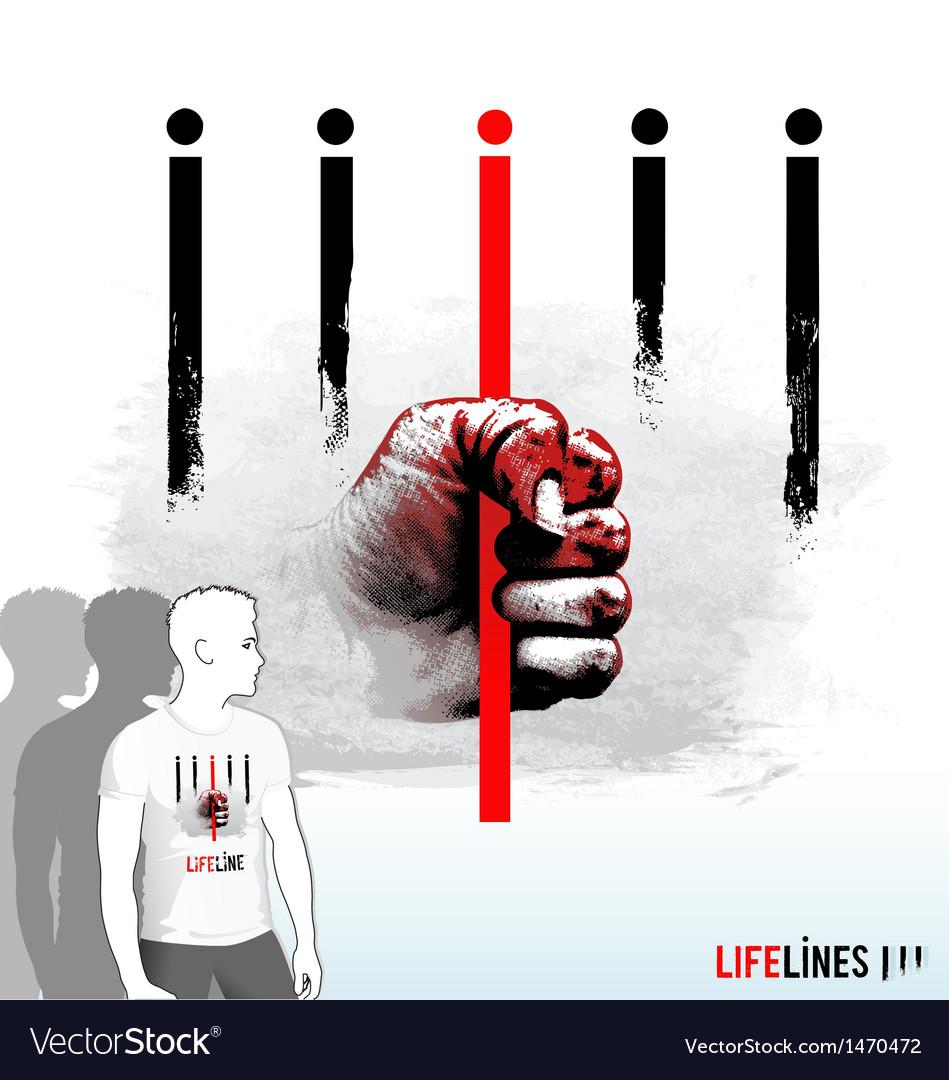 Lifelines vector