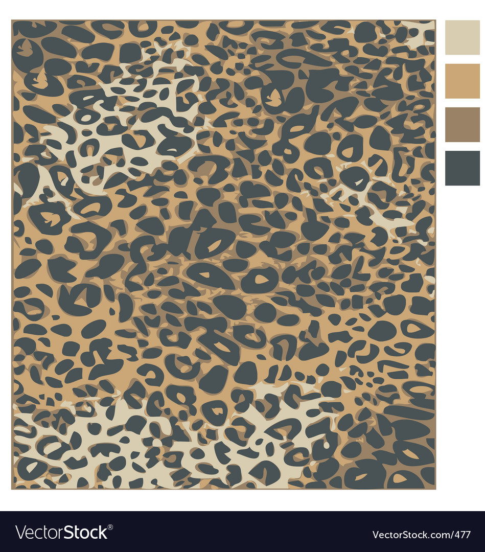 Free leopard skin vector