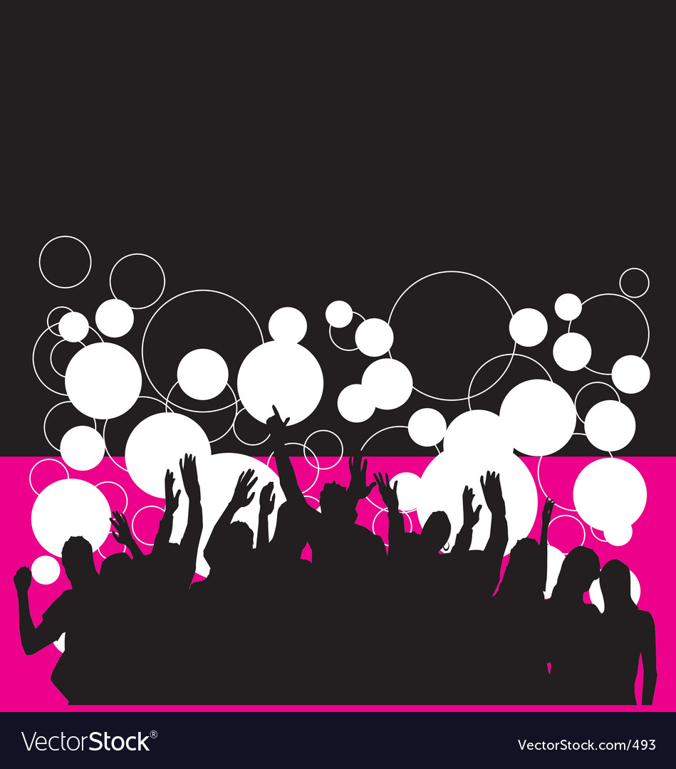 Free party people vector