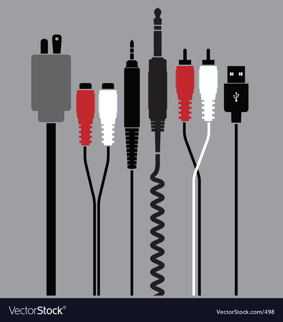 Free plugs vector