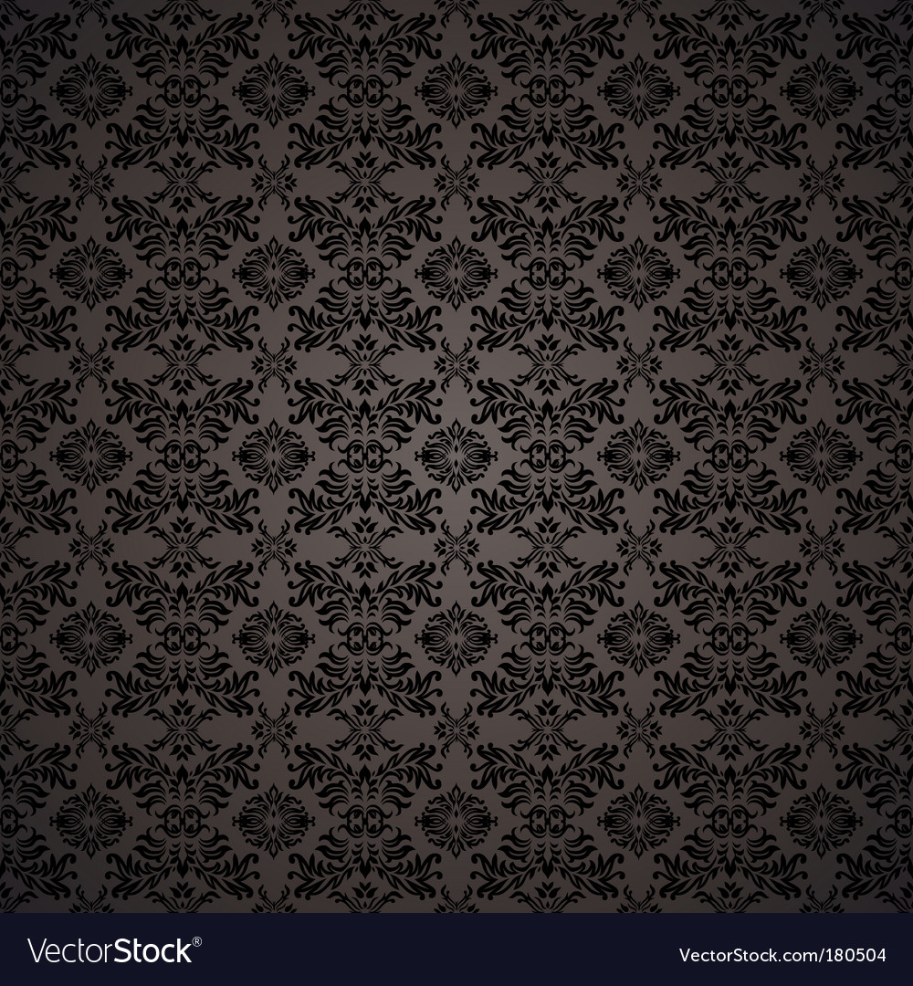 Gothic seamless wallpaper vector