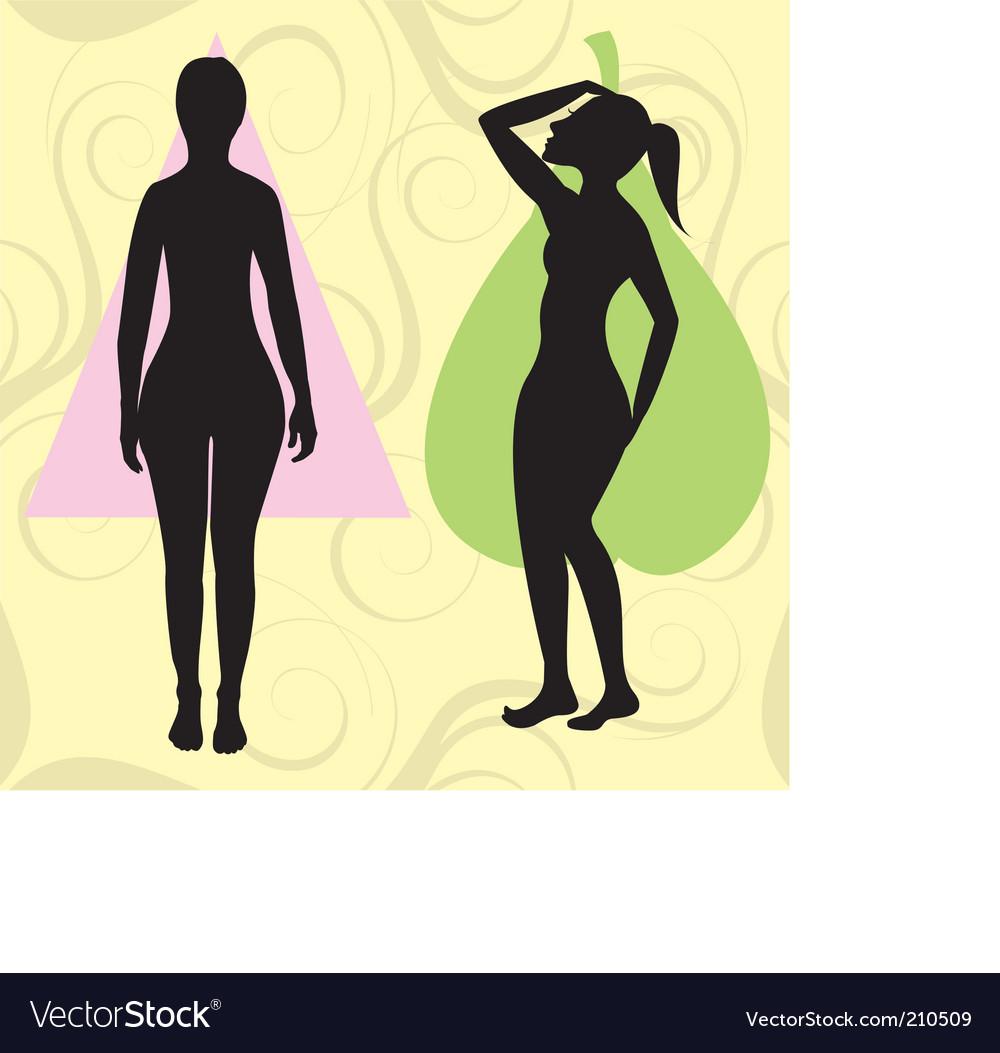 Pear spoon body vector