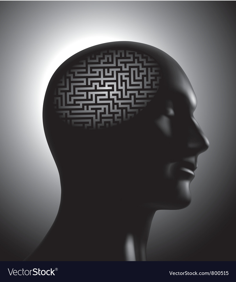 Brainstom concept vector