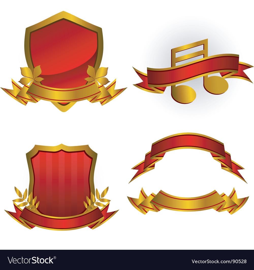 Emblems vector
