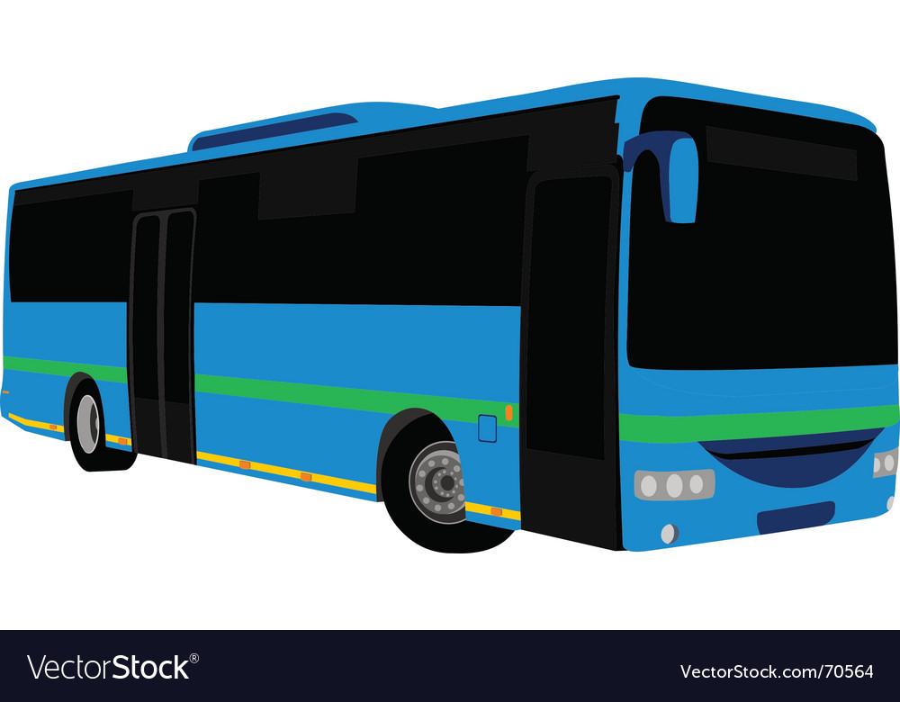 Free bus  vector