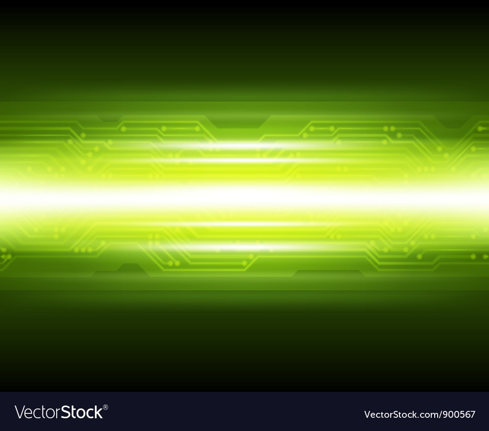 Abstract techno microchip background vector