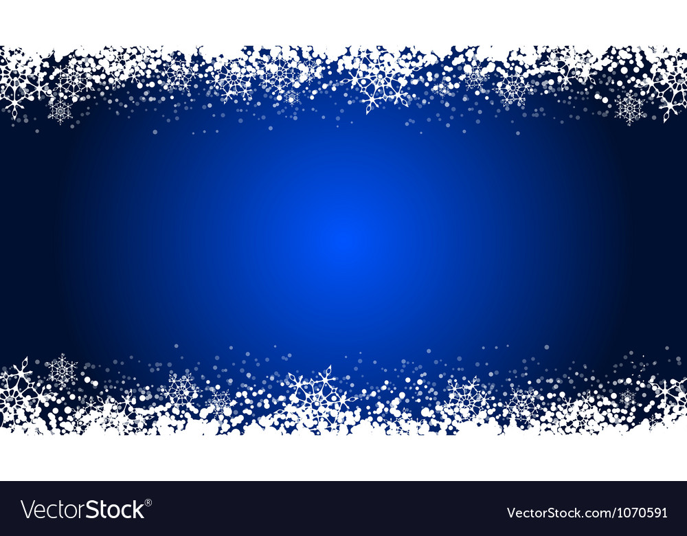 Snow background vector