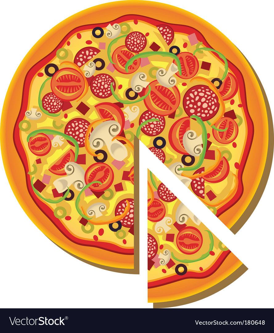 Clip Art Pizza Slice
