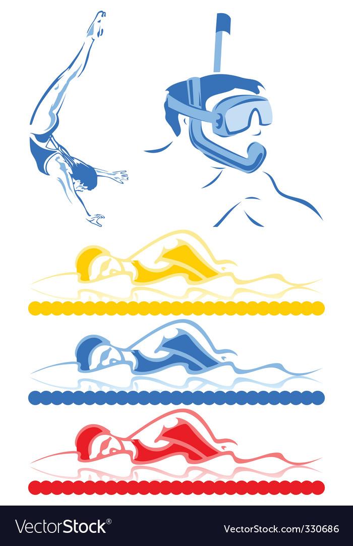 Aquatics vector