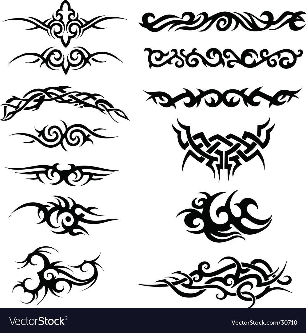 Tribal artworks vector