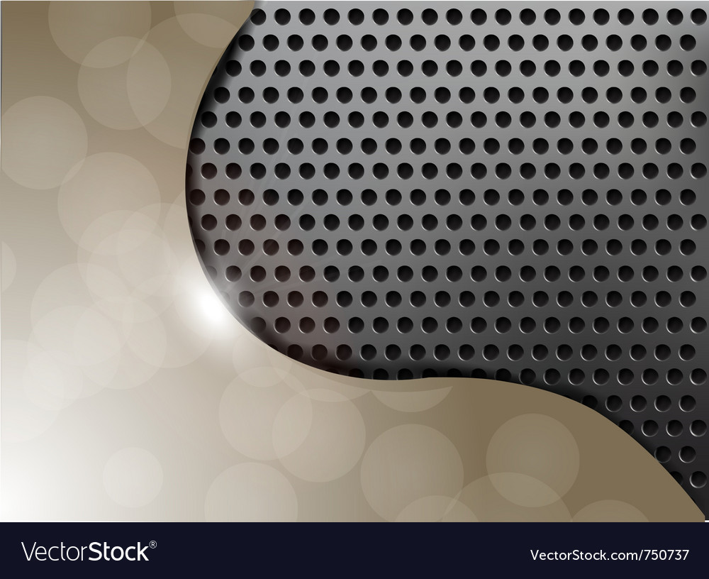 Metallic texture background vector