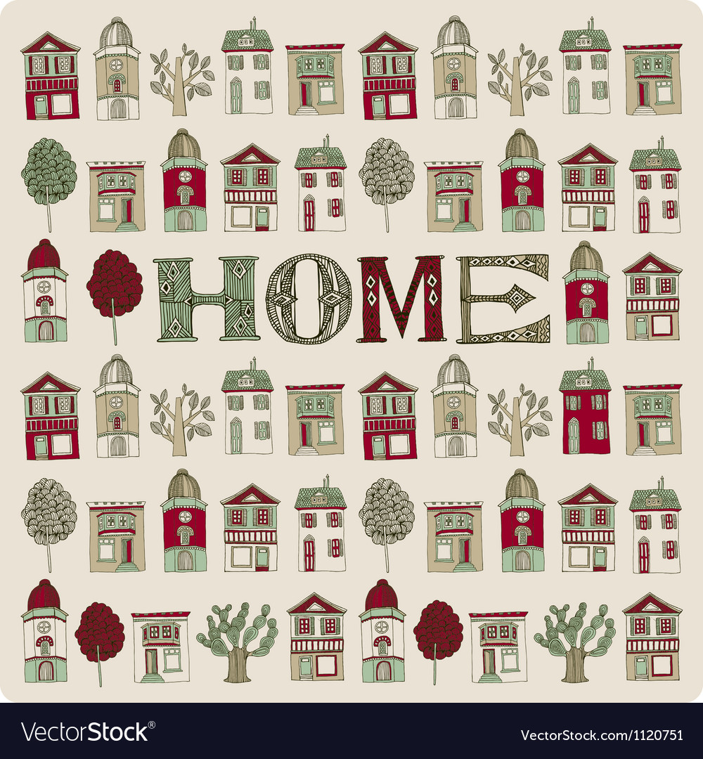 Small homes vector