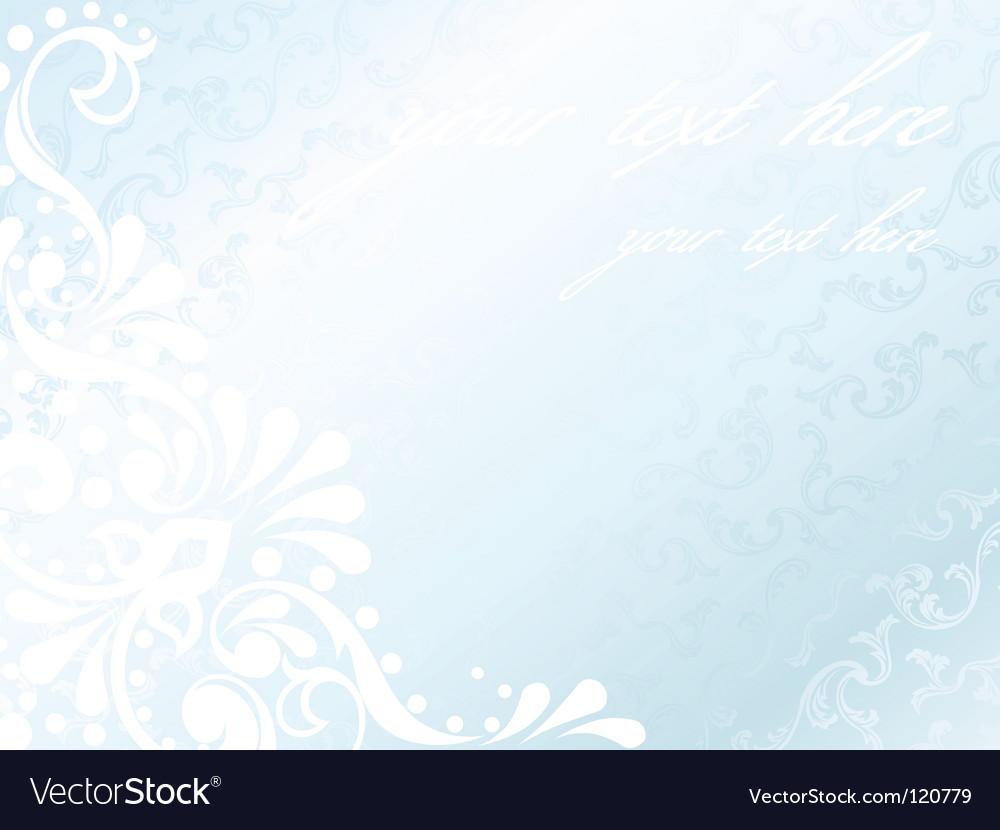 Victorian white satin background vector