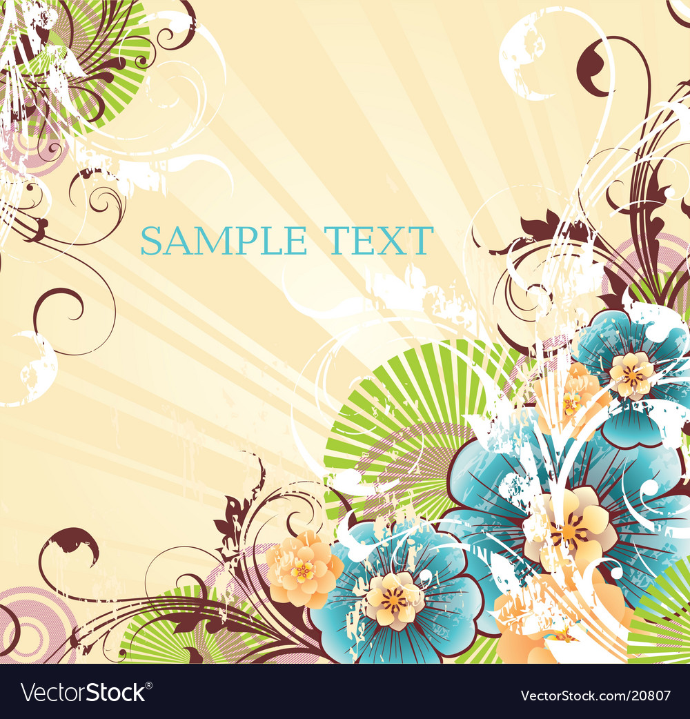 Striped yellow background vector