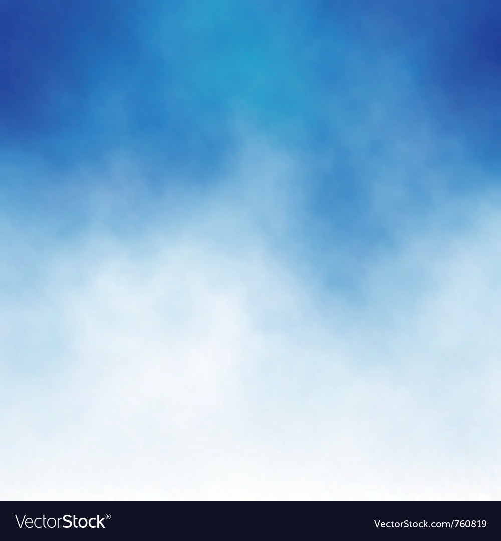 Cloud blue vector