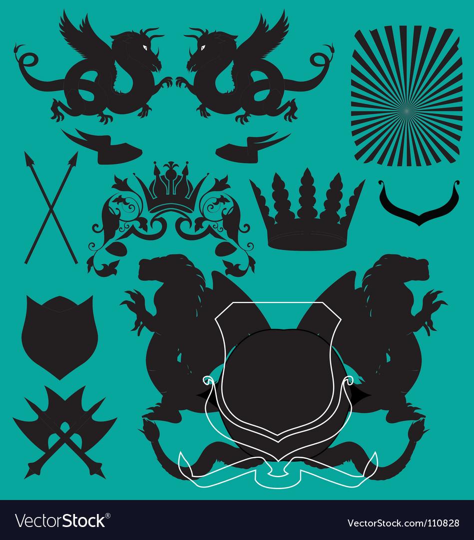Free heraldry   vector