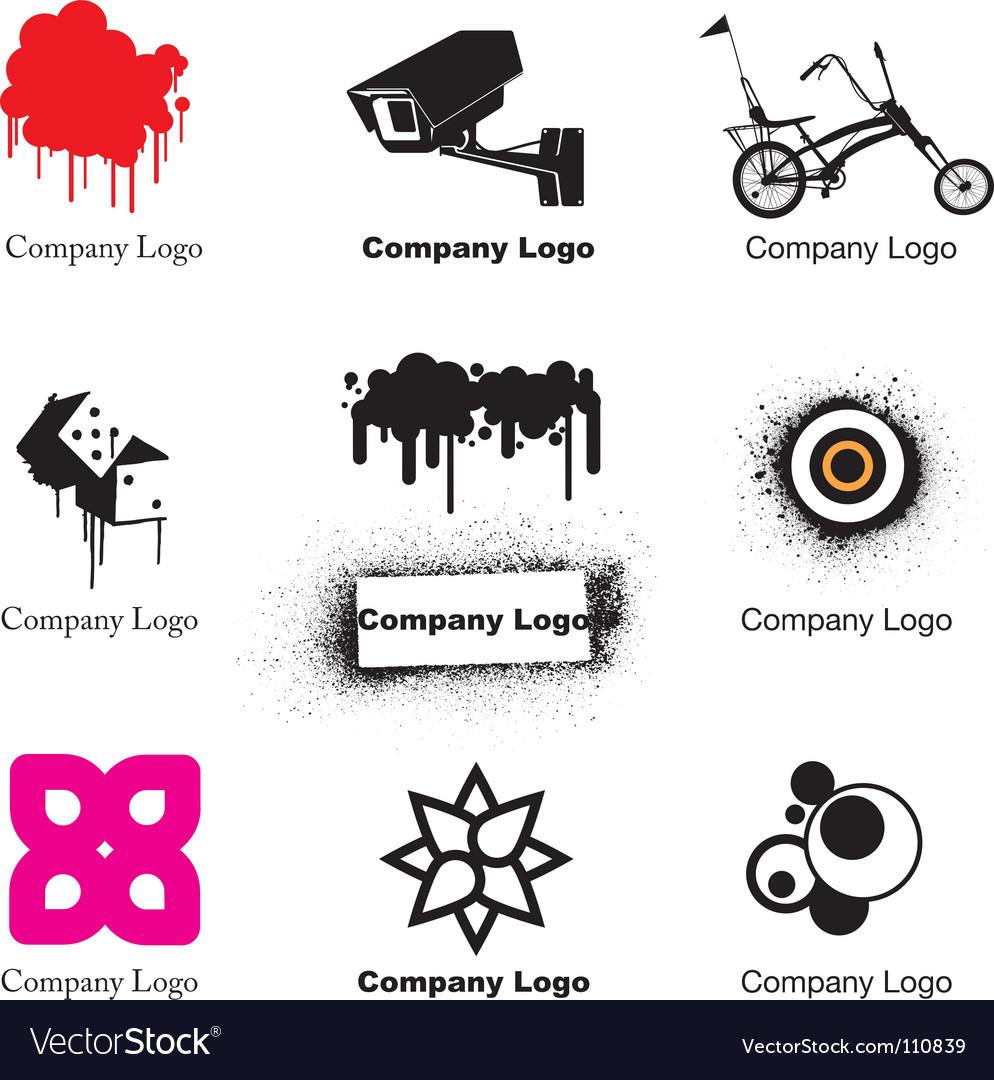 Free urban logos vector