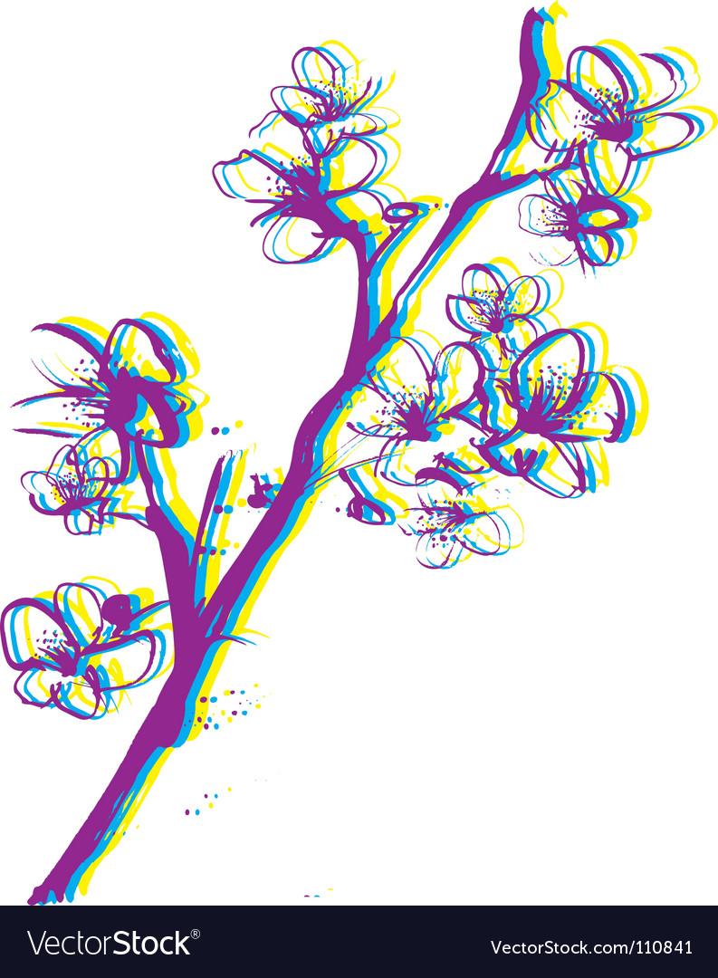 Free artistic leaf vector