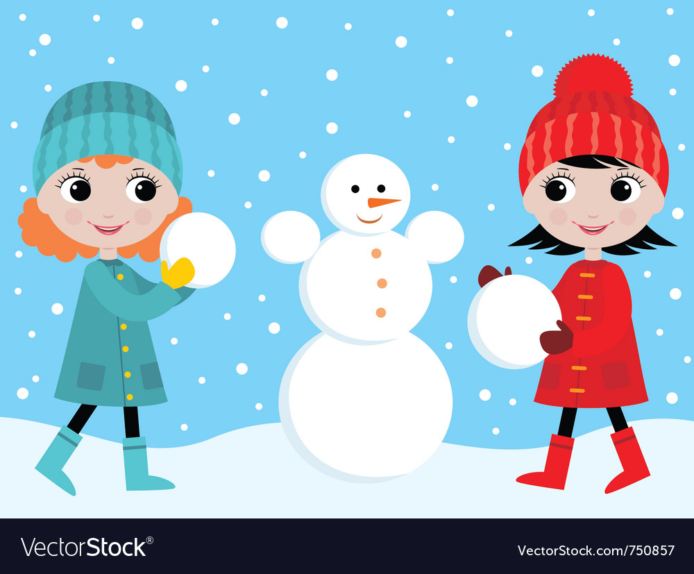 Build the snowman vector