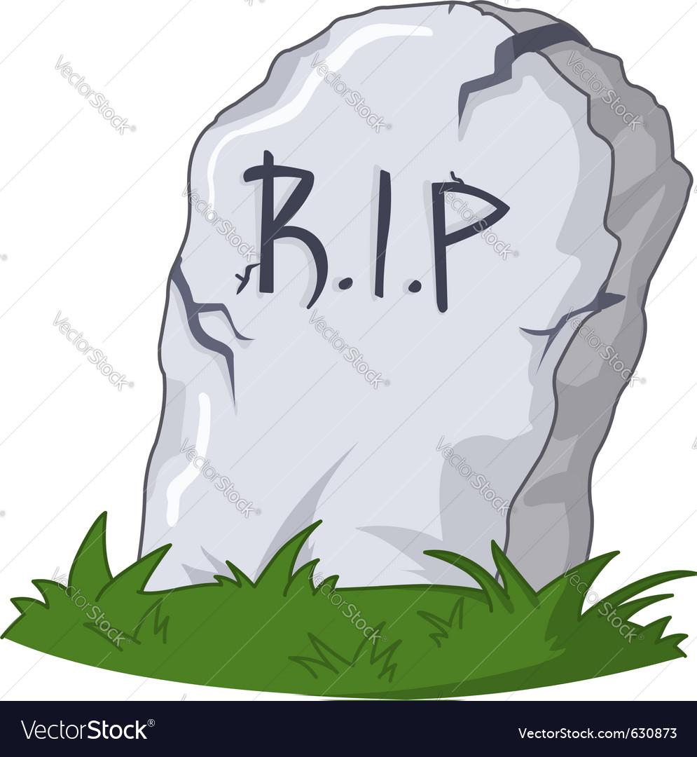 RIP oaky smokie Grave-vector-630873