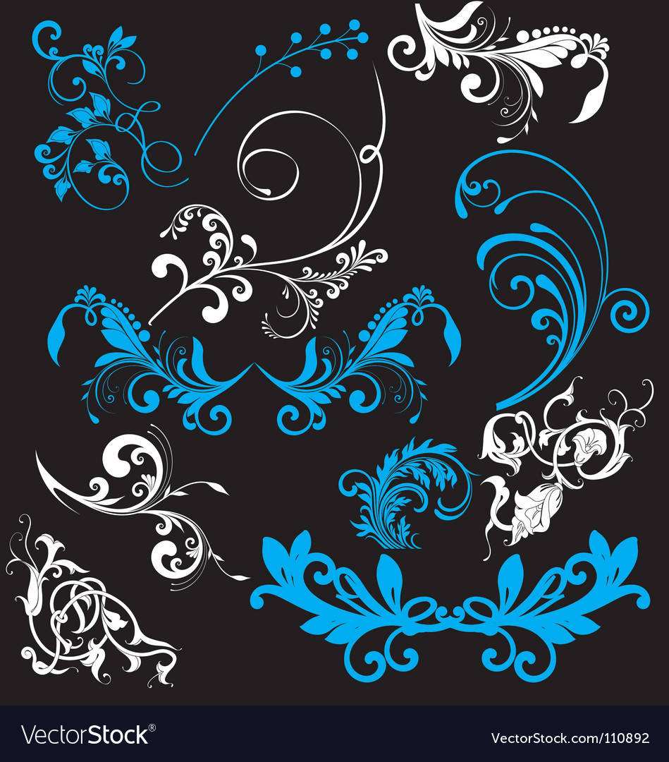 Free nature elements vector