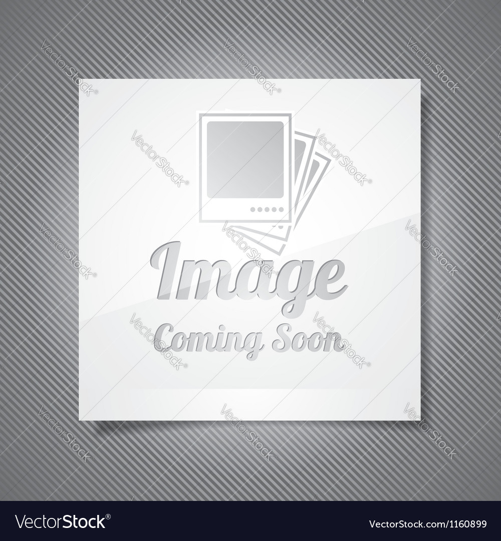 Coming soon with abstract picture vector