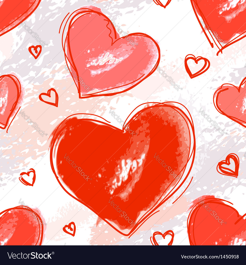 Pattern love vector
