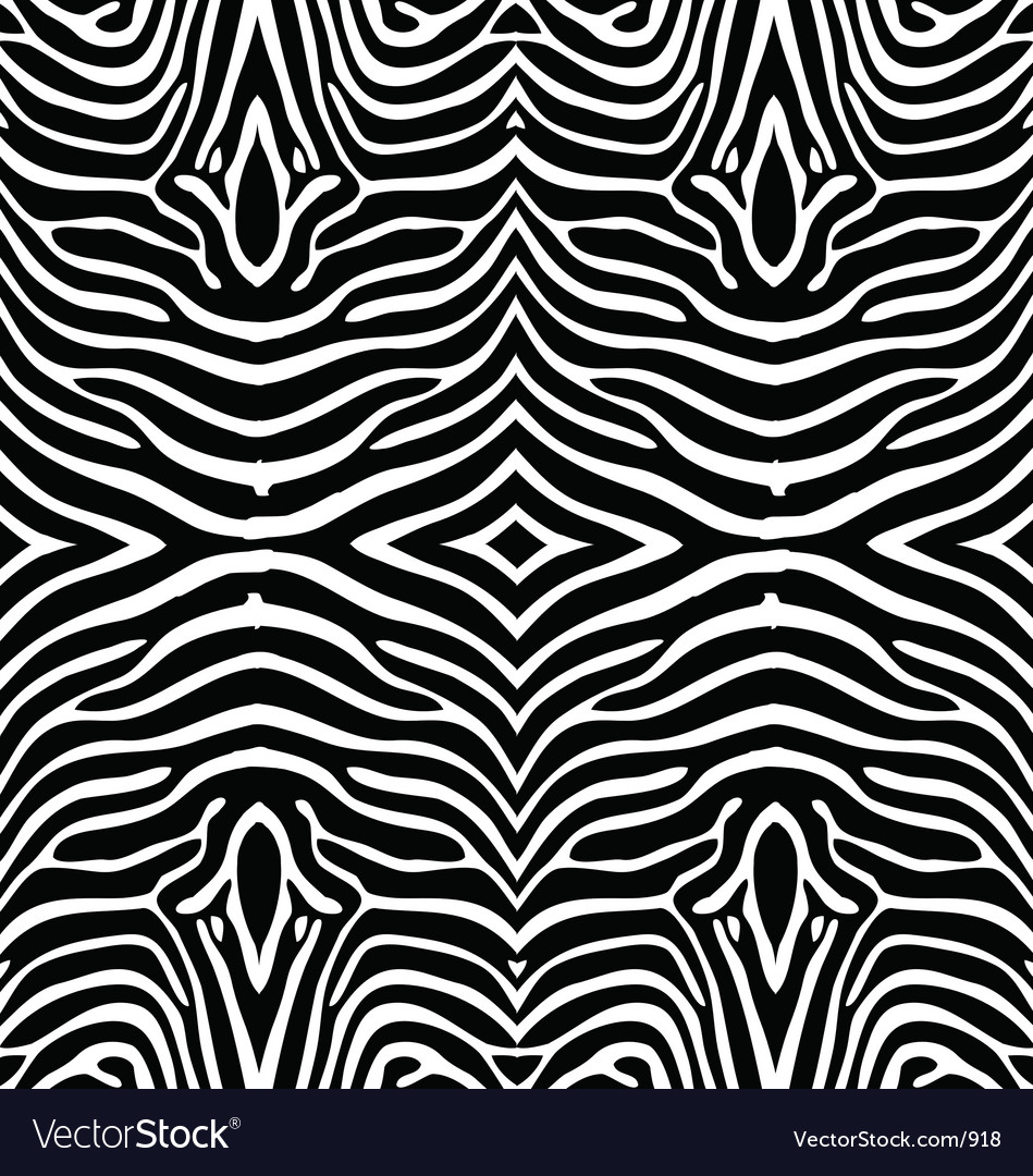 Free zebra skin wallpaper vector