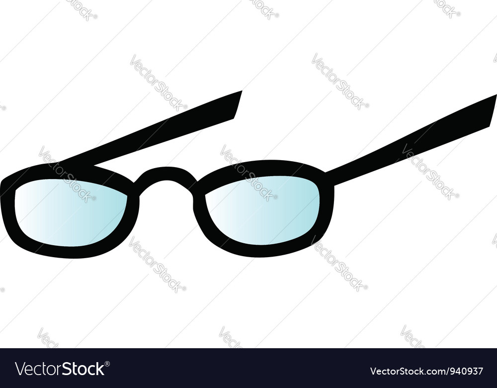 Eyeglasses vector by HitToon - Image #940937 - VectorStock
