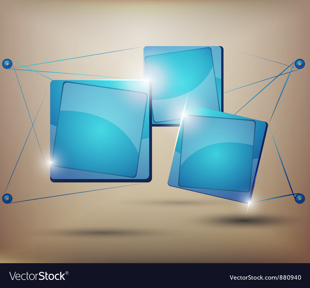 Abstract web element vector