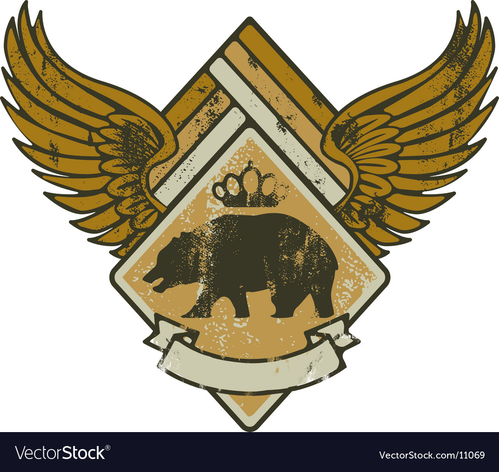 Bear kink army vector