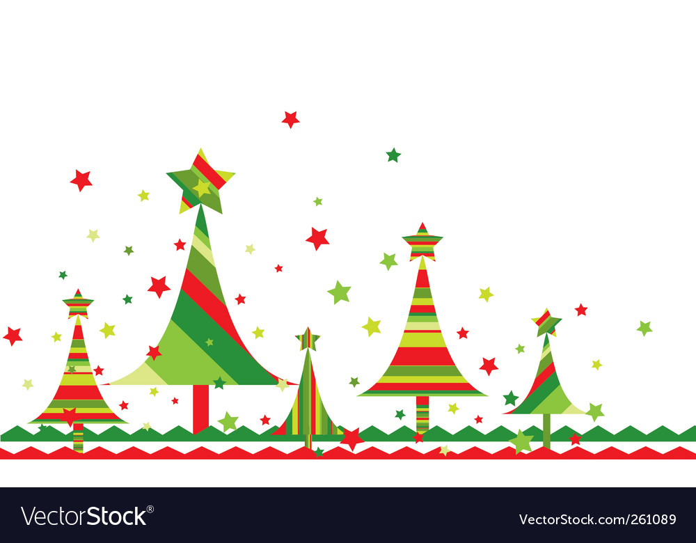 Christmas tree background vector by tolchik image 261089