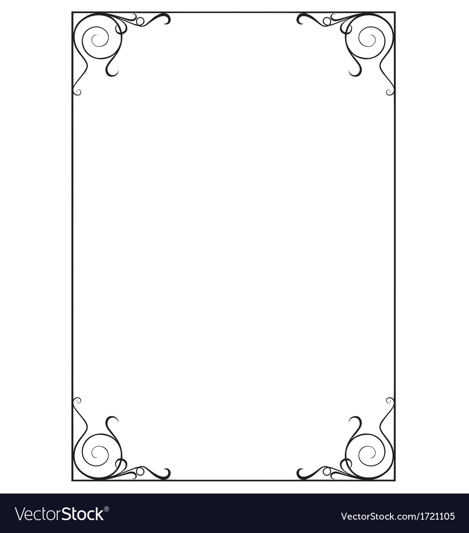 fancy border templates