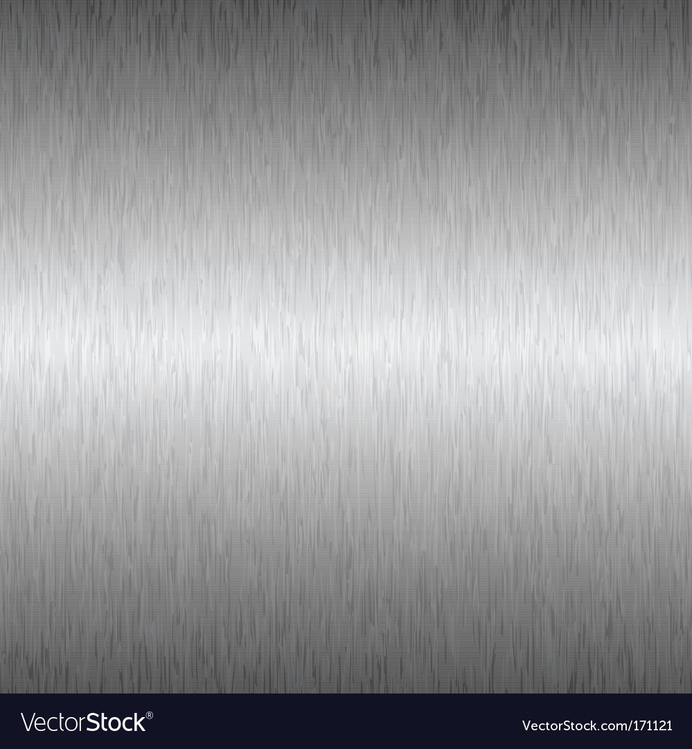 Silver square metal background vector