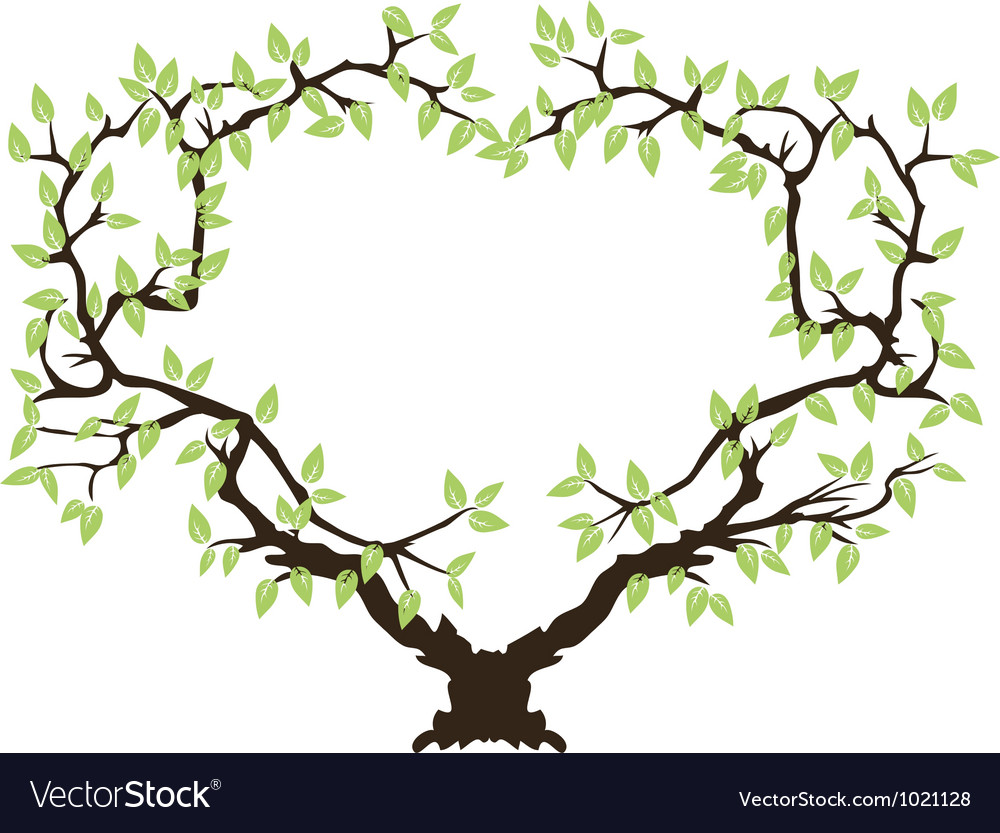 tree borders and frames green tree frame vector